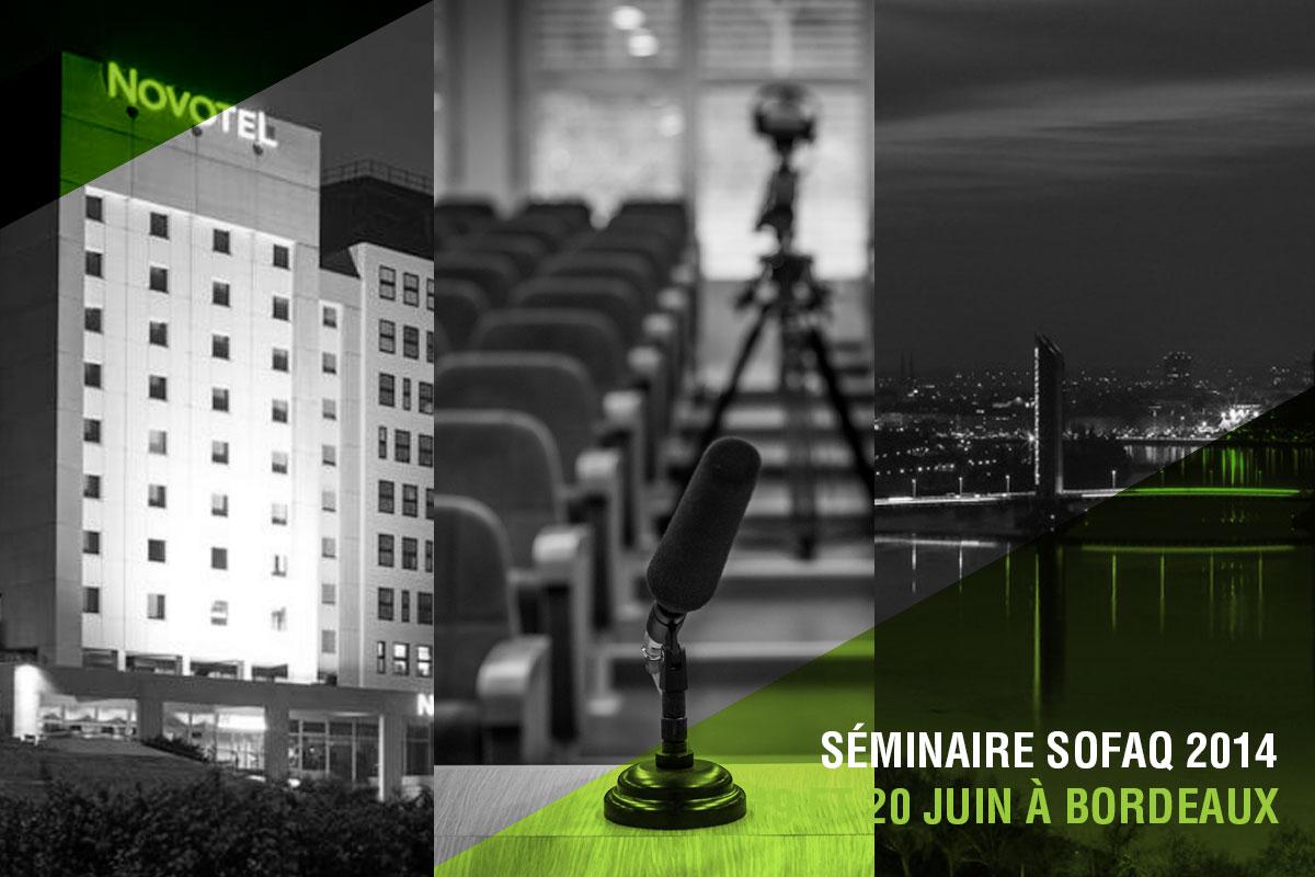 Séminaire SOFAQ 2014