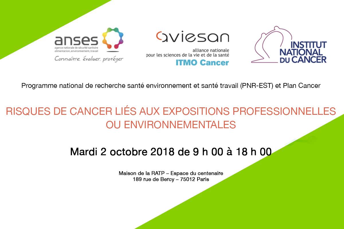 Risques De Cancer Liés Aux Expositions Professionnelles Ou Environnementales